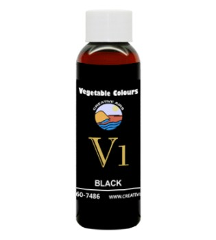 V1 Vegetable Color Black