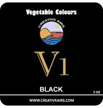 V1 Vegetable Color Black