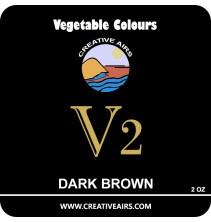 V2 Vegetable Color Dark Brown