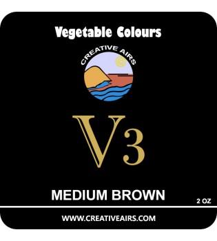 V3 Vegetable Color Medium Brown