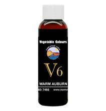 V6 Vegetable Color Warm Auburn